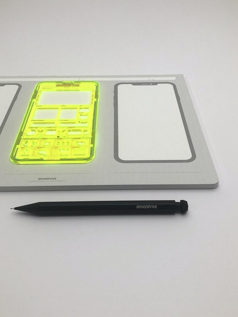 ideation sketch note pad zeichenblock für digitale produkte apps