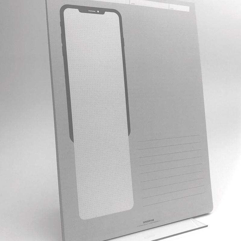 Einfach digitale Produkte entwickeln mit dem Mobile UX Hypothesen Zeichenblock